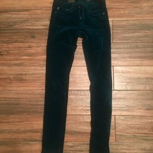 Velvet corduroy pants